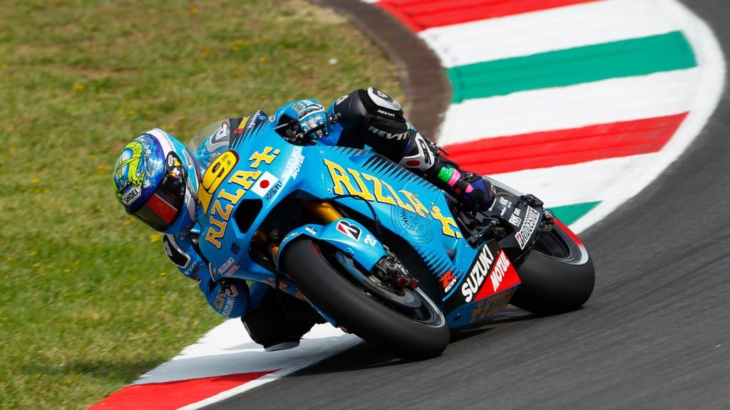 Alvaro Bautista, Rizla Suzuki MotoGP, Test Mugello