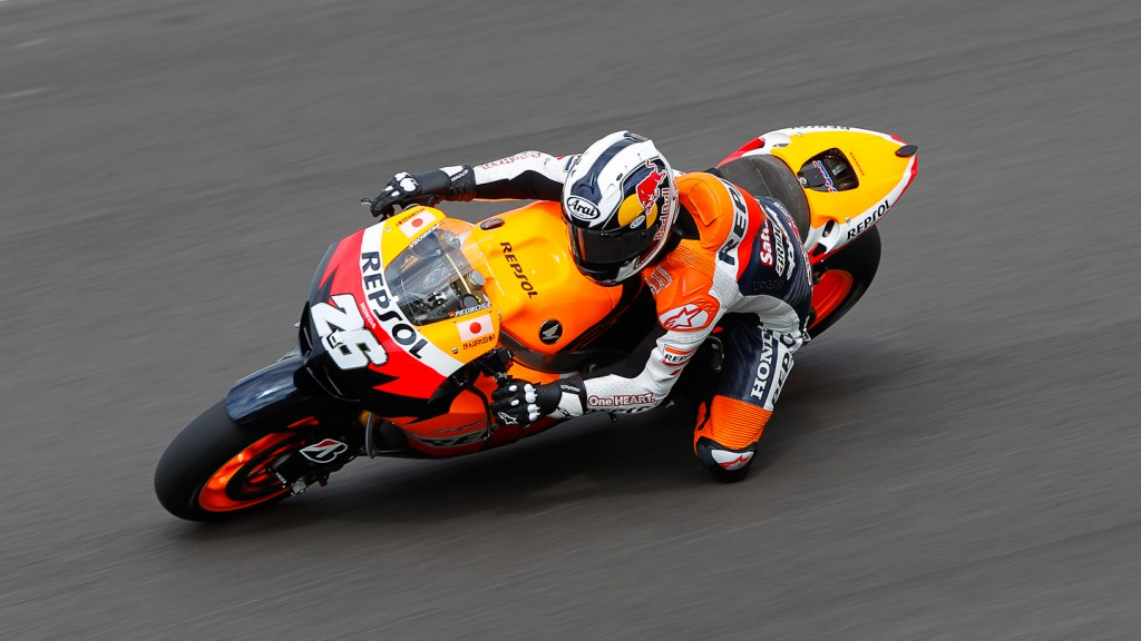 Dani Pedrosa, Repsol Honda Team, Test Mugello