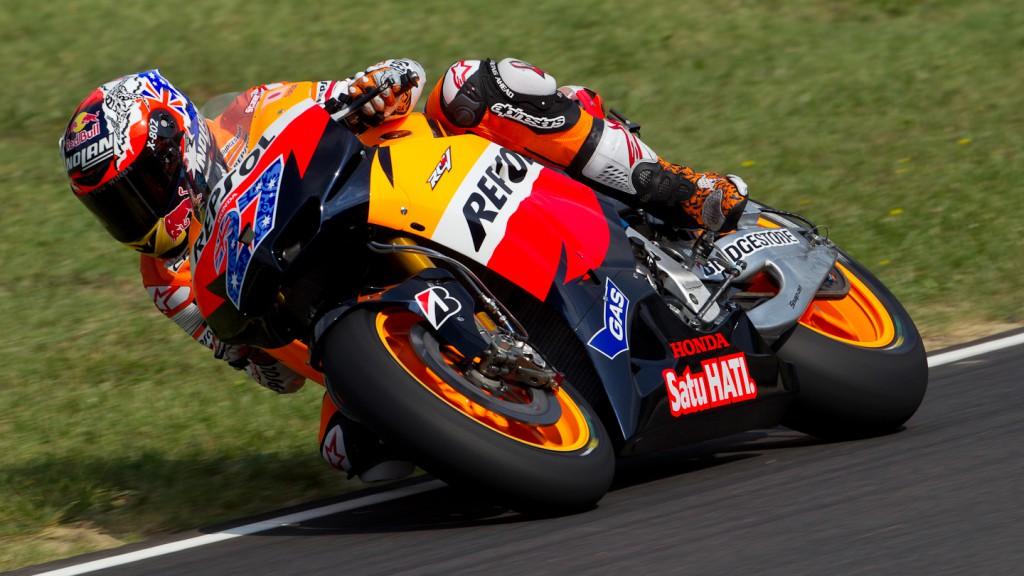 Casey Stoner, Repsol Honda Team, Test Mugello