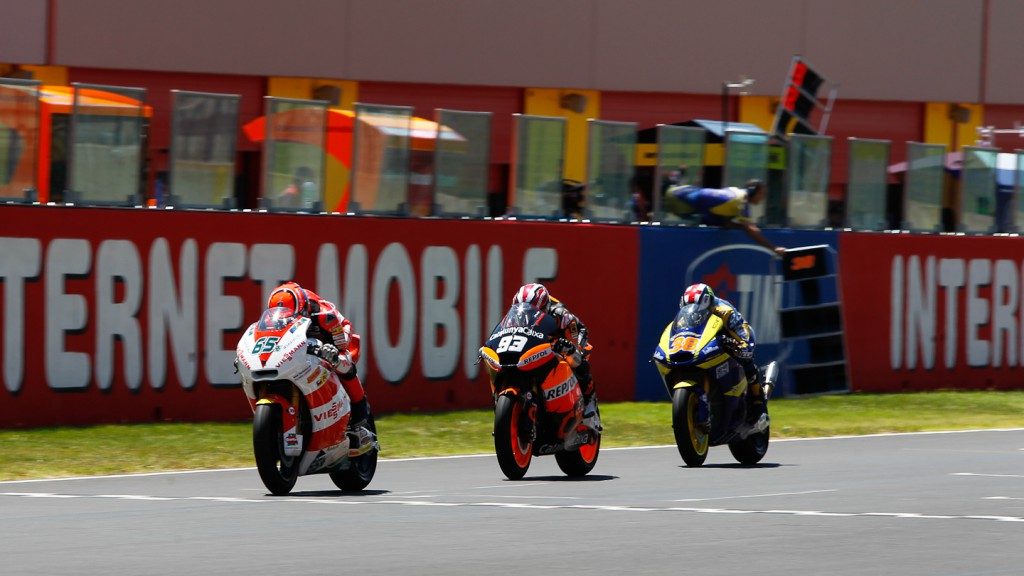 Stefan Bradl, Marc Marquez, Bradley Smith, Viessmann Kiefer Racing, Team CatalunyaCaixa Repsol, Tech 3 Racing, Mugello RAC