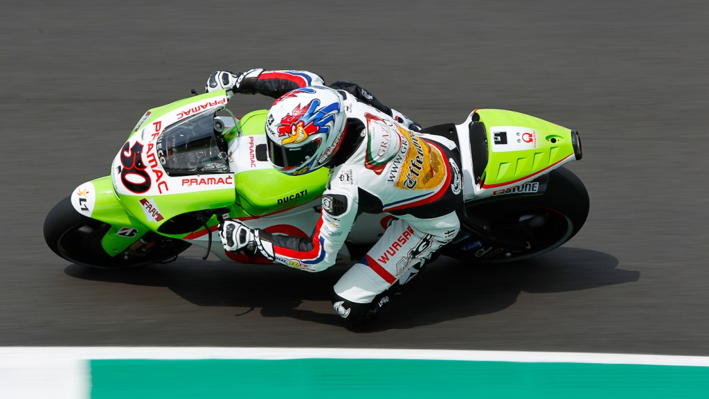 Sylvain Guintoli, Pramac Racing Team, Test Mugello