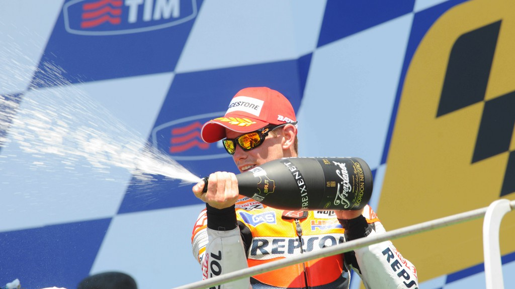 Casey Stoner, Repsol Honda Team, Mugello RAC