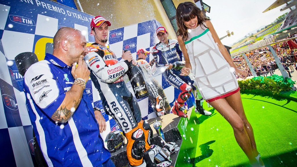 MotoGP Podium, Mugello RAC