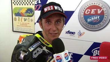 2011 - CEV Buckler - Round 4 - Albacete - Interview - Moto2 - Carmelo Morales