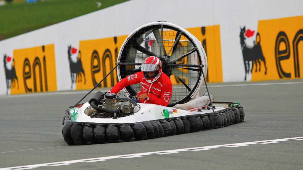 Hector Barbera, Mapfre Aspar Team MotoGP, Hovercrafts Preevent