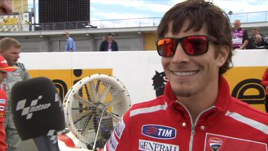 Hayden previews Sachsenring race
