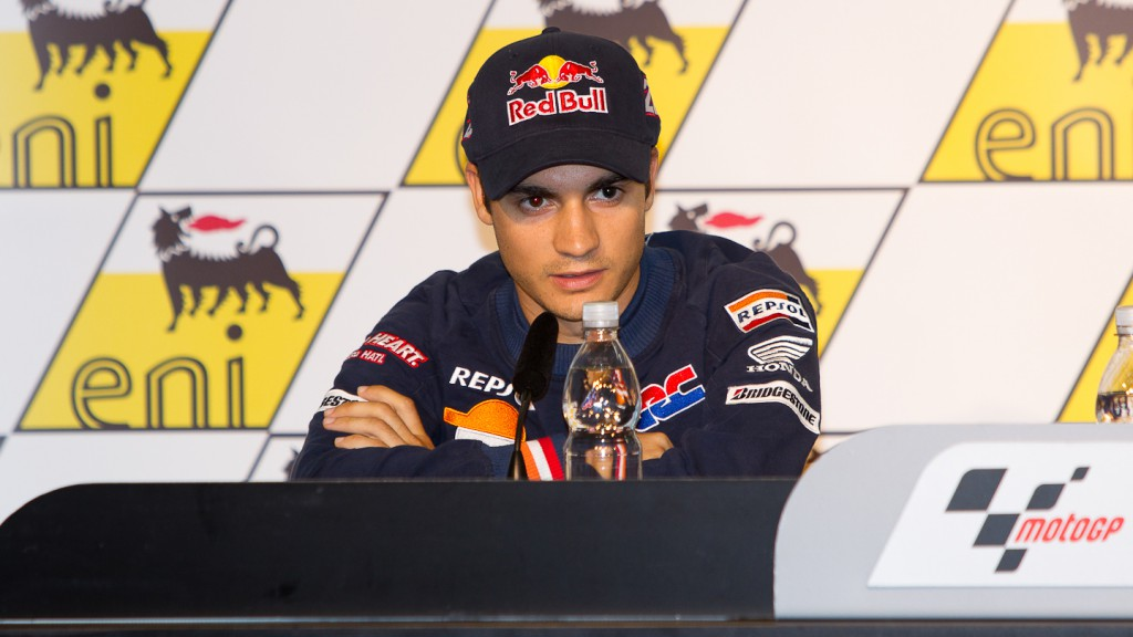 Dani Pedrosa, Repsol Honda Team, Sachsenring Press Conference