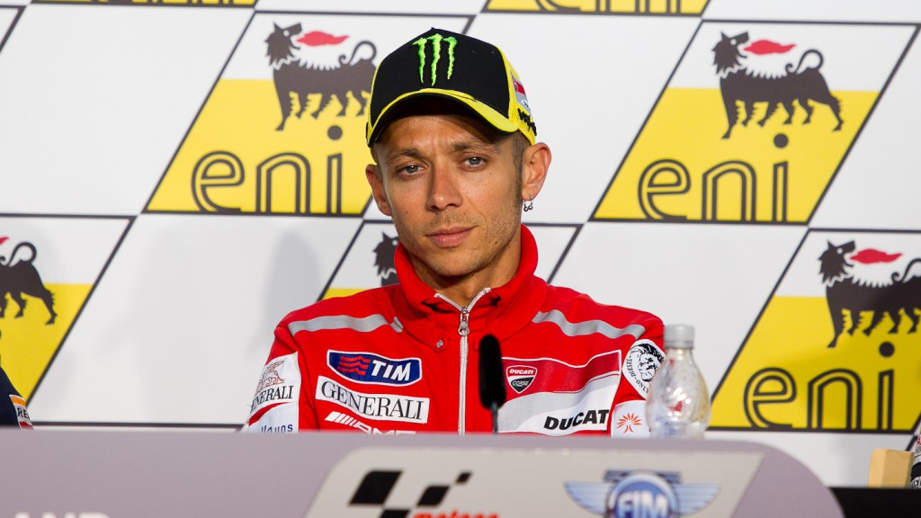 Valentino Rossi, Ducati Team, Press Conference, eni Motorrad Grand Prix Deutschland
