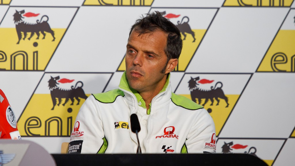 Loris Capirossi, Pramac Racing Team, Press Conference, eni Motorrad Grand Prix Deutschland