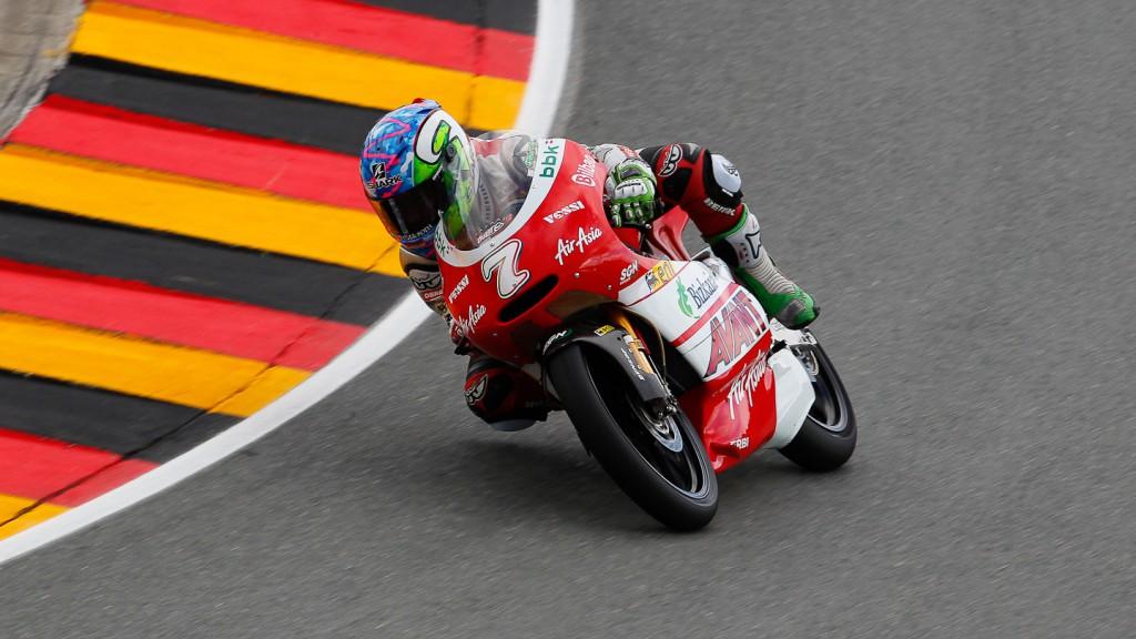 Efren Vazquez, Avant-AirAsia-Ajo, Sachsenring FP1