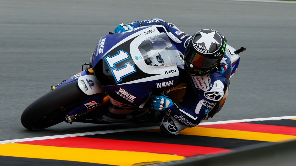 Ben Spies, Yamaha Factory Racing, Sachsenring FP2