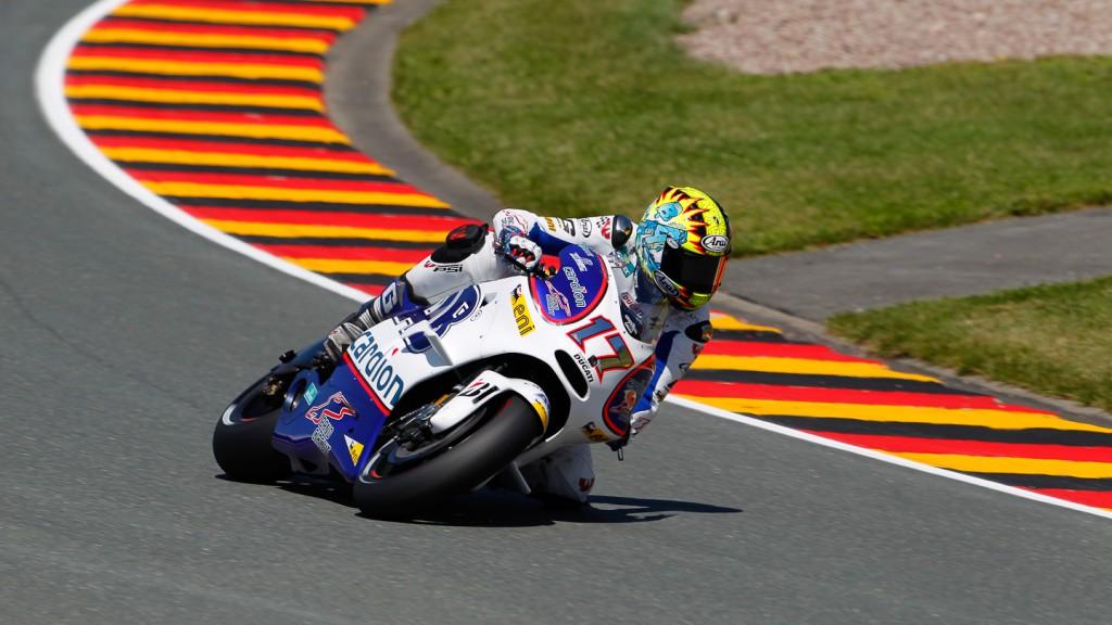 Karel Abraham, Cardion AB Motoracing, Sachsenring FP2