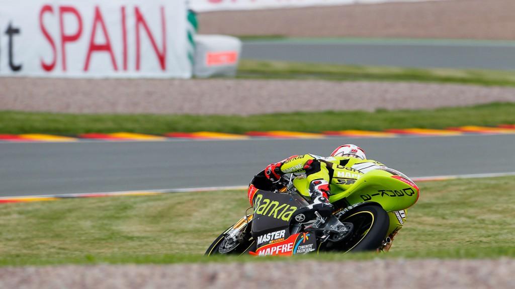 Nico Terol, Bankia Aspar Team 125cc, Sachsenring FP2