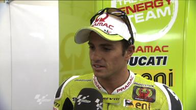Sachsenring 2011 - MotoGP - FP2 - Interview - Randy De Puniet