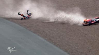 Sachsenring 2011 - MotoGP - FP1 - Action - Dani Pedrosa - Crash