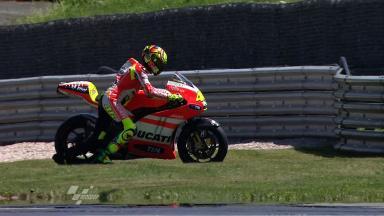 Sachsenring 2011 - MotoGP - FP2 - Action - Valentino Rossi