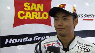 Sachsenring 2011 - MotoGP - FP2 - Interview - Hiroshi Aoyama