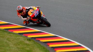 Casey Stoner, Repsol Honda Team, Sachsenring FP2