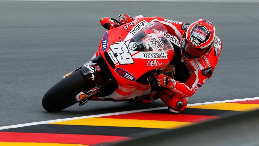 Nicky Hayden, Ducati Team, Sachsenring FP1