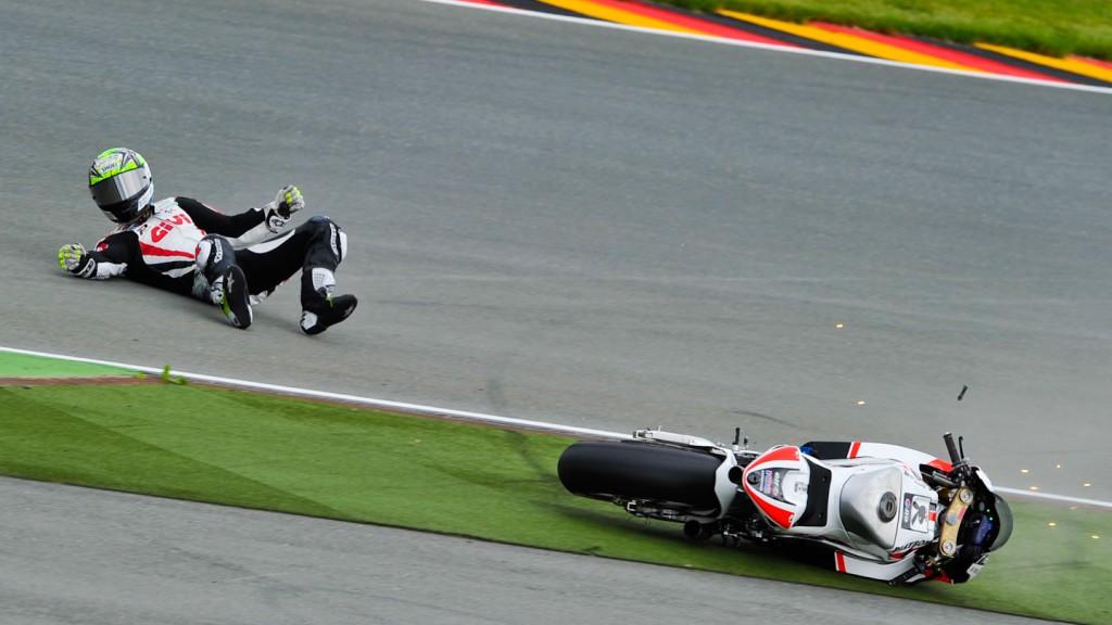 Toni Elias, LCR Honda MotoGP, Sachsenring FP1