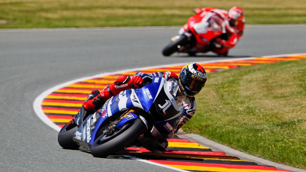 Jorge Lorenzo, Yamaha Factory Racing, Sachsenring FP3