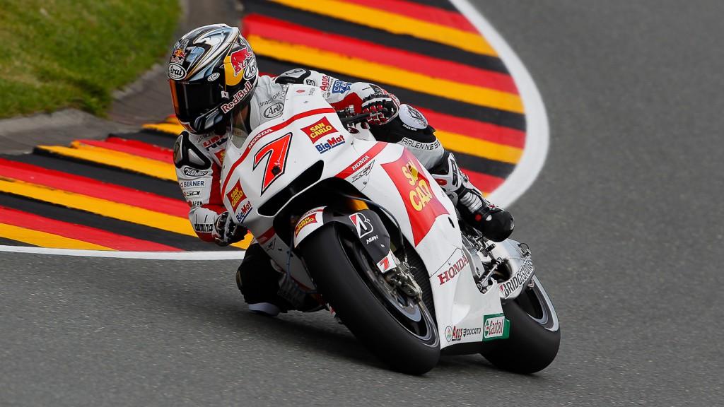 Hiroshi Aoyama, San Carlo Honda Gresini, Sachsenring QP