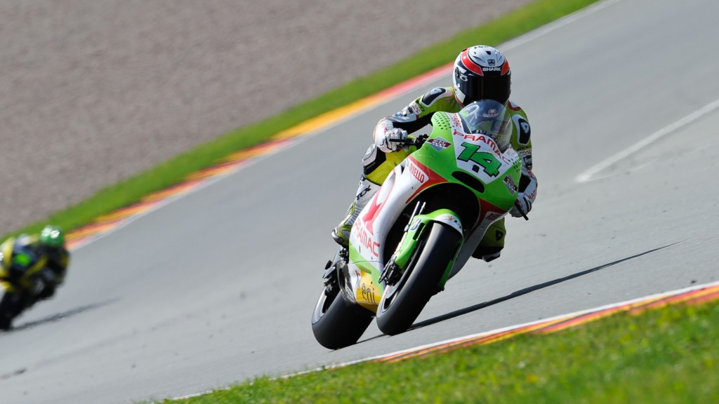 Randy de Puniet, Pramac Racing Team, Sachsenring QP