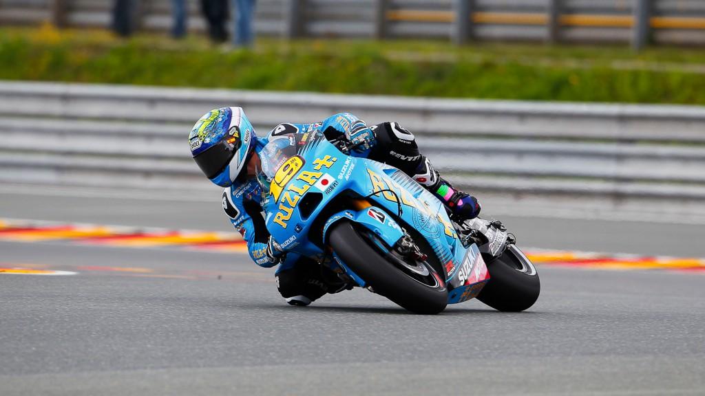 Alvaro Bautista, Rizla Suzuki MotoGP, Sachsenring QP