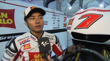 Sachsenring 2011 - MotoGP - QP - Interview - Hiroshi Aoyama