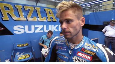 Sachsenring 2011 - MotoGP - QP - Interview - Alvaro Bautista