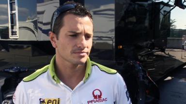 Sachsenring 2011 - MotoGP - QP - Interview - Randy De Puniet