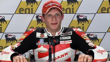 Sachsenring 2011 - Moto2 - QP - Interview - Stefan Bradl