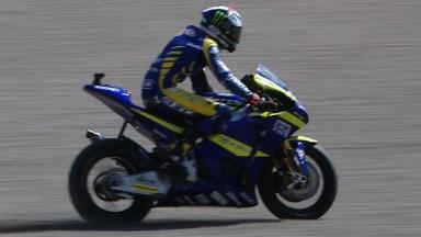 Sachsenring 2011 - Moto2 - QP - Action - Bradley Smith