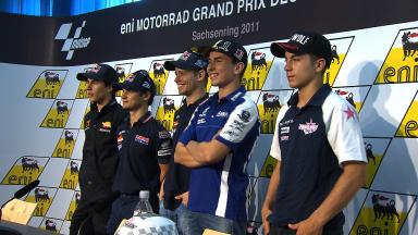 eni Motorrad Grand Prix Deutschland QP Press Conference
