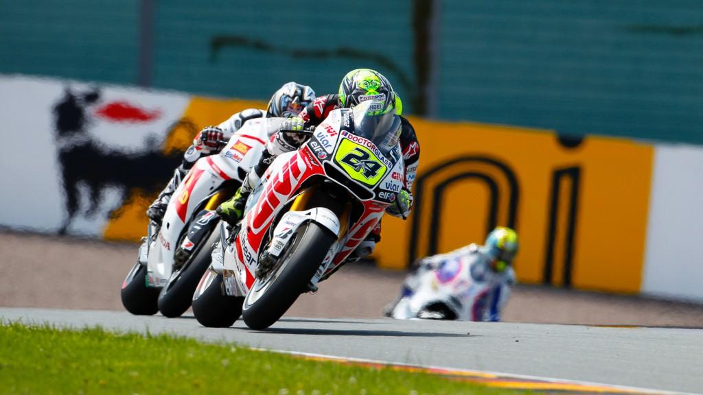 Toni Elias, LCR Honda MotoGP, Sachsenring QP