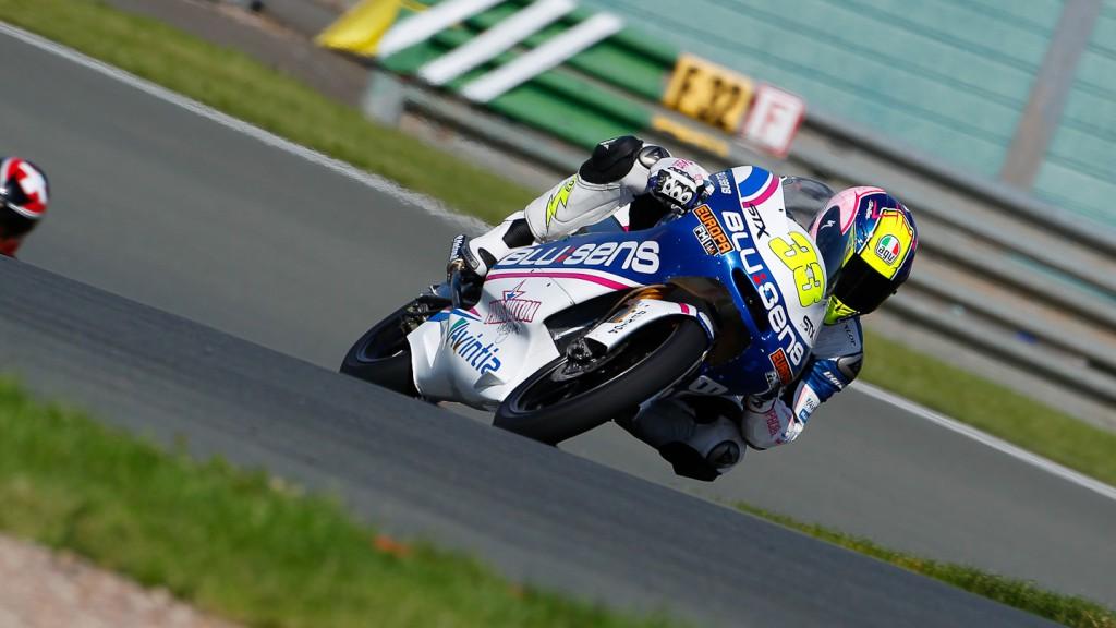 Sergio Gadea, Blusens by Paris Hilton Racing, Sachsenring QP