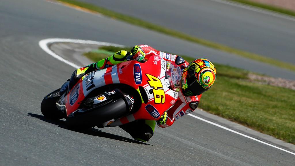 Valentino Rossi, Ducati Team, Sachsenring QP