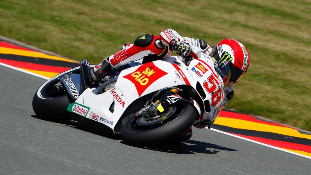 Marco Simoncelli, San Carlo Honda Gresini, Sachsenring FP3