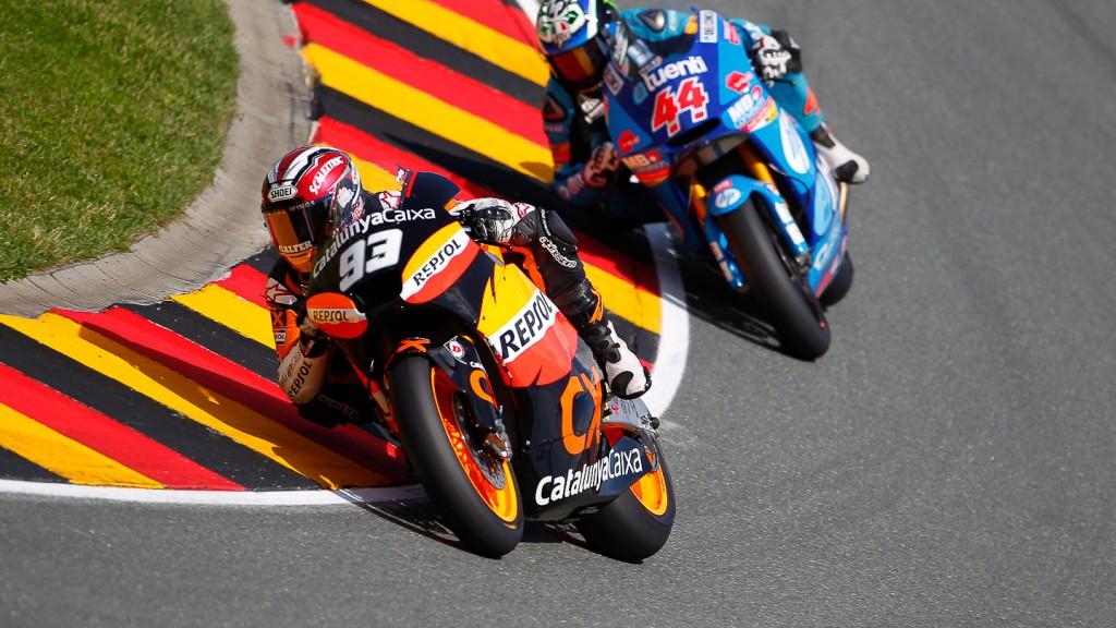 Marc Marquez, Team Catalunya Repsol, Sachsenring QP