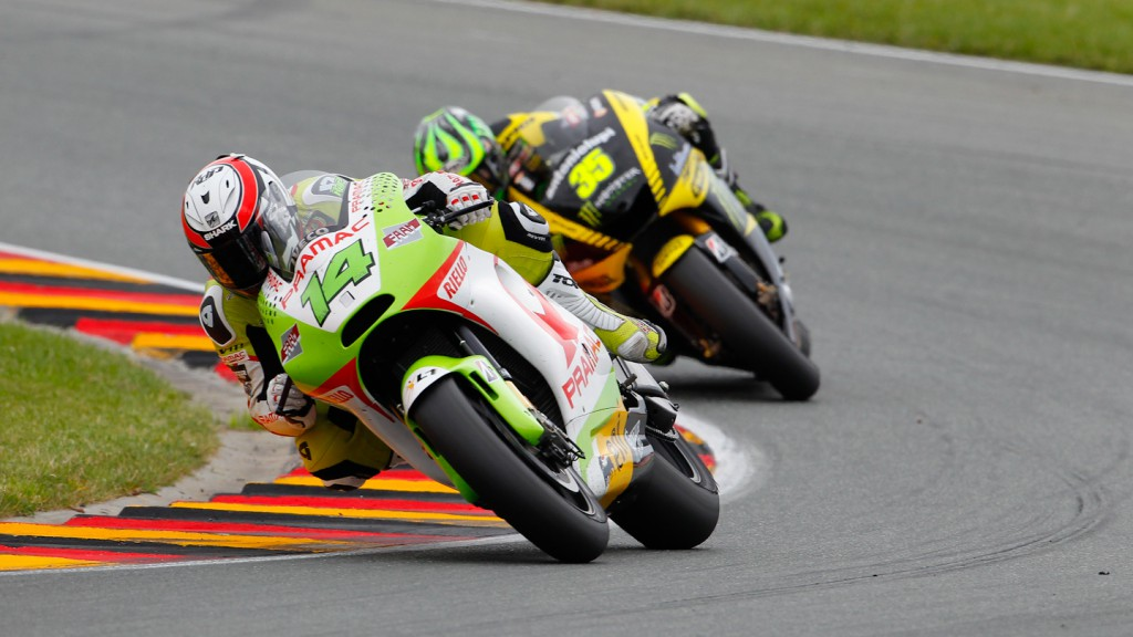 Randy de Puniet, Pramac Racing Team, Sachsenring RAC
