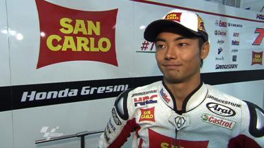 Sachsenring 2011 - MotoGP - Race - Interview - Hiroshi Aoyama