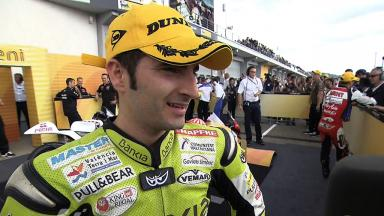 Sachsenring 2011 - 125cc - Race - Interview - Hector Faubel