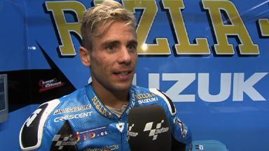 Sachsenring 2011 - MotoGP - Race - Interview - Alvaro Bautista