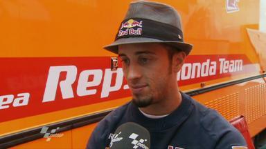 Sachsenring 2011 - MotoGP - Race - Interview - Andrea Dovizioso