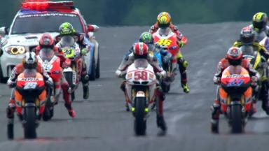 Sachsenring 2011 - MotoGP - Race - Action - Race start