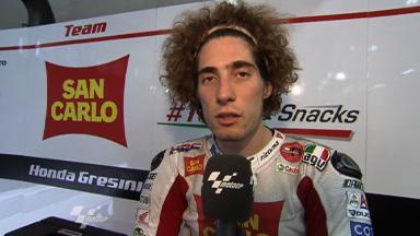 Sachsenring 2011 - MotoGP - Race - Interview - Marco Simoncelli