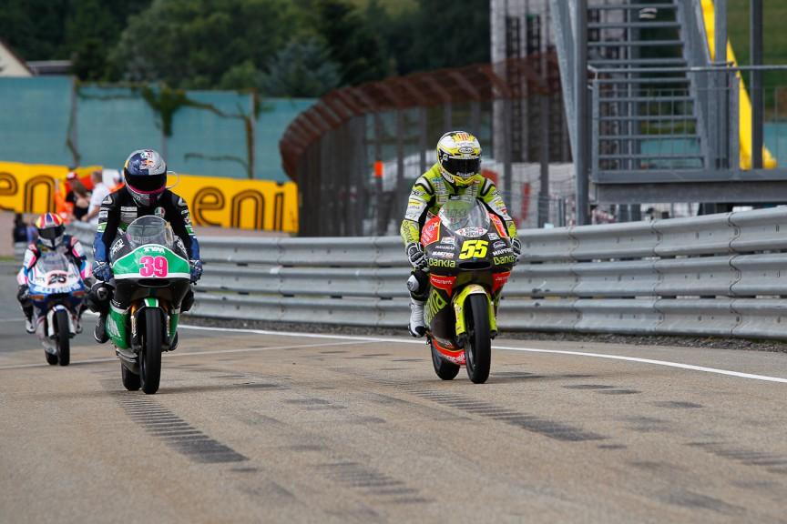 Luis Salom, Hector Faubel, RW Racing GP, Bankia Aspar Team 125cc, Sachsenring RAC