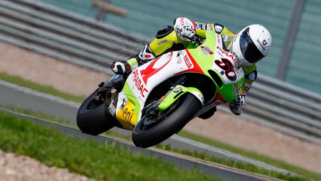 Sylvain Guintoli, Pramac Racing Team, Sachsenring RAC