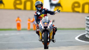 Red Bull Rookies Sachsenring race 2