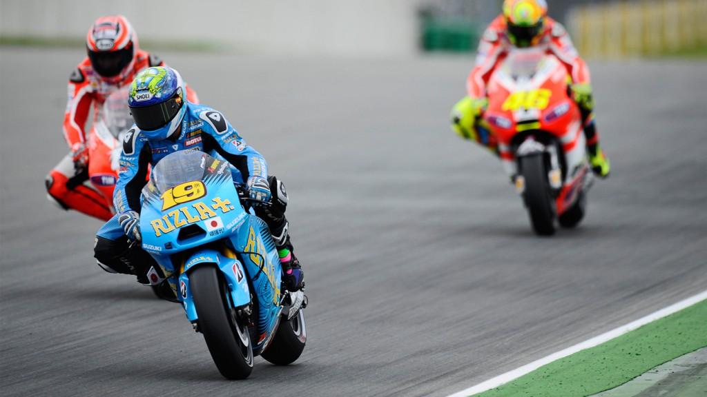 Alvaro Bautista, Rizla Suzuki MotoGP, Sachsenring RAC